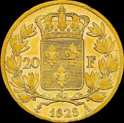 العملة > 20فرنك, 1825-1830 - فرنسا  - reverse