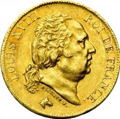 Moneta > 40franków, 1816-1824 - Francja  - obverse
