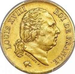 العملة > 40فرنك, 1816-1824 - فرنسا  - obverse