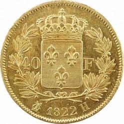 Монета > 40франків, 1816-1824 - Франція  - reverse