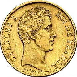 العملة > 40فرنك, 1824-1830 - فرنسا  - obverse