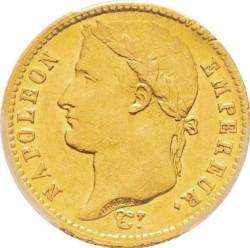 Монета > 20франків, 1809-1814 - Франція  - obverse