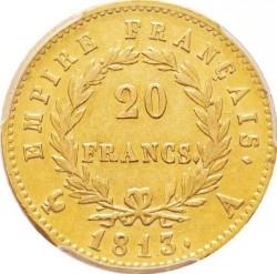 Монета > 20франків, 1809-1814 - Франція  - reverse