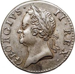 Moneta > 1fartingas, 1760 - Airija  - obverse