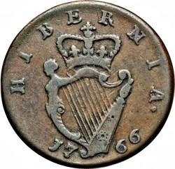 العملة > ½بني, 1766-1769 - ايرلندا  - reverse