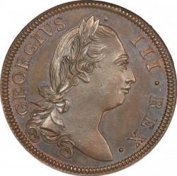 Monedă > ½penny, 1775-1782 - Irlanda  - obverse