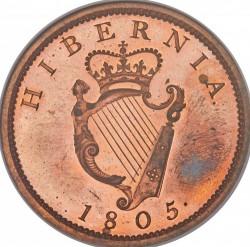 Pièce > 1penny, 1805 - Irlande  - reverse