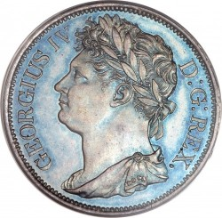 سکه > 1پنی, 1822-1823 - ایرلند  - obverse
