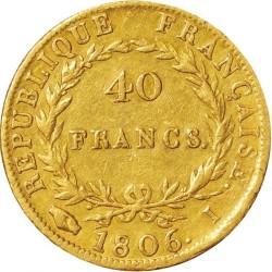 Münze > 40Franken, 1806 - Frankreich  - reverse