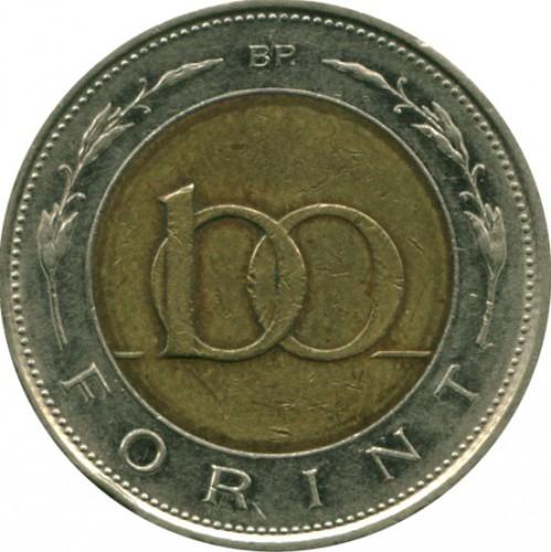 informacje o wersji na ogromna zniżka brak podatku od sprzedaży 100 forintów 1996-2011, Węgry - Cena monety - uCoin.net