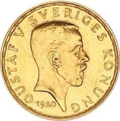 Munt > 5kronor, 1920 - Zweden  - obverse