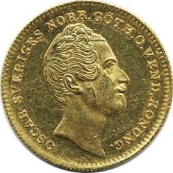Монета > 1дукат, 1845-1859 - Швеция  - obverse