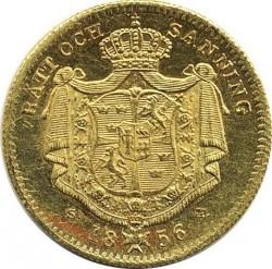 Монета > 1дукат, 1845-1859 - Швеция  - reverse
