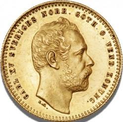 Monedă > 1ducat, 1860-1868 - Suedia  - obverse
