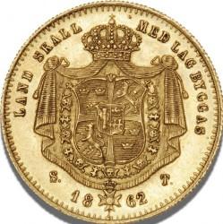 Monedă > 1ducat, 1860-1868 - Suedia  - reverse
