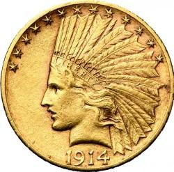 Монета > 10долара, 1908-1933 - САЩ  (Орел) - obverse