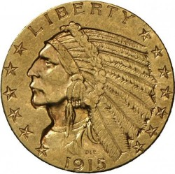 Minca > 5 dolárov, 1908-1929 - USA  (Indian Head) - obverse