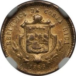 Moeda > 1peso, 1864-1868 - Costa Rica  - obverse