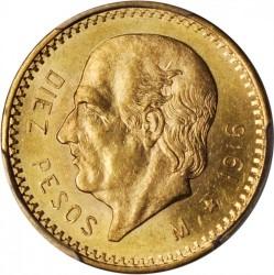 Monedă > 10peso, 1905-1959 - Mexic  - reverse