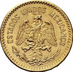 錢幣 > 10披索, 1905-1959 - 墨西哥  - obverse