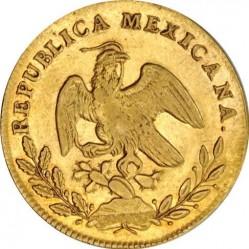 Νόμισμα > 4Εσκούδος, 1825-1869 - Μεξικό  - obverse