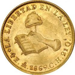 Νόμισμα > 4Εσκούδος, 1825-1869 - Μεξικό  - reverse