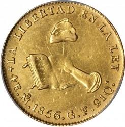 Moneda > 4escudos, 1825-1869 - México  - reverse