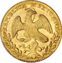 Moneda > 2escudos, 1825-1870 - México  - obverse