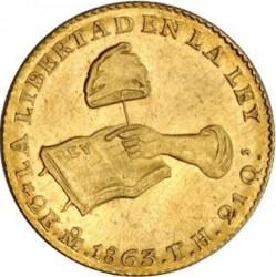 Moneda > 2escudos, 1825-1870 - México  - reverse