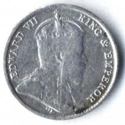Moneta > 10centesimi, 1902-1910 - Ceylon  - obverse