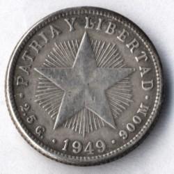 Coin > 10centavos, 1915-1949 - Cuba  - reverse