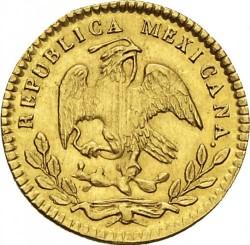Moneda > ½escudo, 1825-1870 - México  - obverse