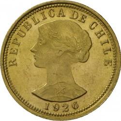 Münze > 100Pesos, 1926 - Chile  - obverse