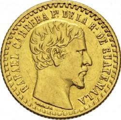 Moneda > 1peso, 1859-1860 - Guatemala  - obverse