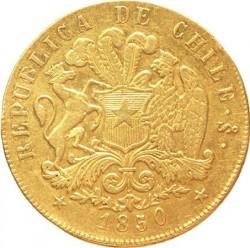 Münze > 8Escudos, 1846-1851 - Chile  - obverse