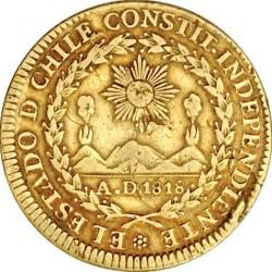 Монета > 4ескудо, 1824-1834 - Чилі  - obverse