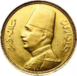 Moneda > 20piastras, 1929-1930 - Egipto  - obverse