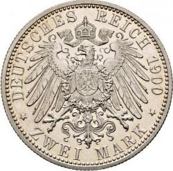 Монета > 2марки, 1900-1901 - Німецька імперія  - reverse