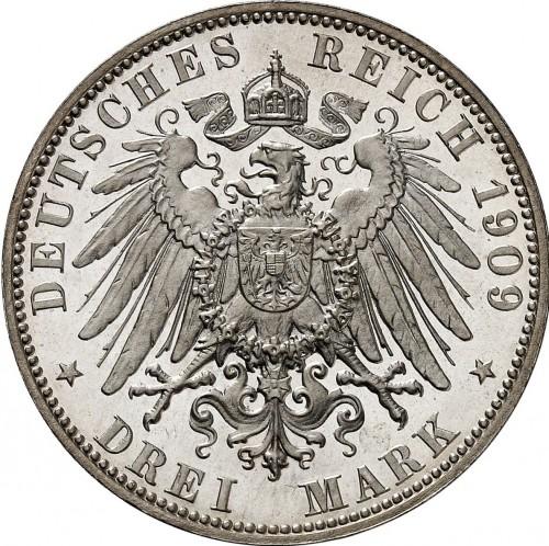 3 Mark 1908 1914 Deutsches Kaiserreich Münzen Wert Ucoinnet