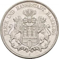 Монета > 5марок, 1875-1888 - Німецька імперія  - obverse