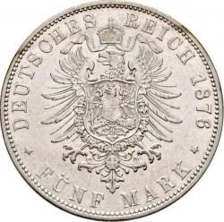 Монета > 5марок, 1875-1888 - Німецька імперія  - reverse