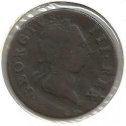 Pièce > ½penny, 1766-1769 - Irlande  - obverse