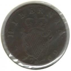 Pièce > ½penny, 1766-1769 - Irlande  - reverse
