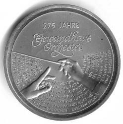 Moeda > 20euro, 2018 - Alemanha  (275th Anniversary - Leipzig Gewandhaus Orchestra) - obverse