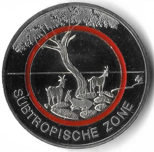 5 Euro 2018 Subtropische Zone Deutschland Münzen Wert Ucoinnet