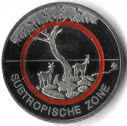 Monēta > 5eiro, 2018 - Vācija  (Subtropical Zone) - reverse