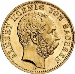 Moneta > 10markių, 1891-1902 - Vokietijos imperija  - obverse