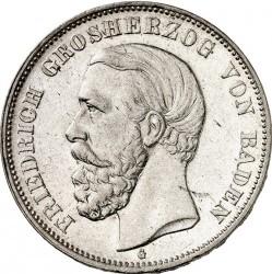 Moneda > 5marcos, 1875-1878 - Alemán (Imperio)  - obverse