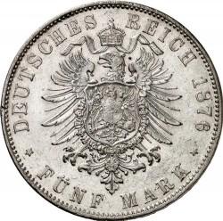Moneda > 5marcos, 1875-1878 - Alemán (Imperio)  - reverse