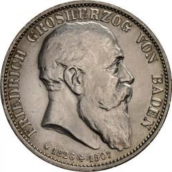 Moneda > 5marcos, 1907 - Alemán (Imperio)  (Muerte de Federico I) - obverse